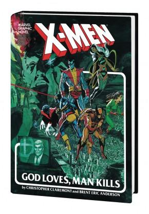 X-MEN GOD LOVES MAN KILLS EXTENDED CUT GALLERY EDITION HARDCOVER