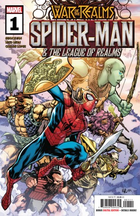 WAR OF THE REALMS SPIDER-MAN & LEAGUE OF REALMS #1