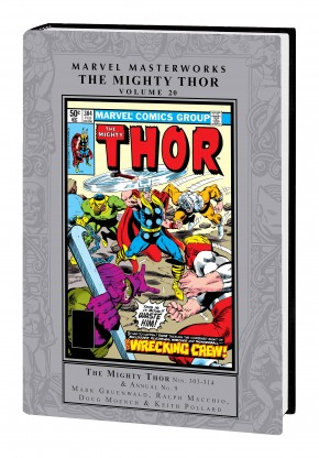 MARVEL MASTERWORKS THE MIGHTY THOR VOLUME 20 HARDCOVER