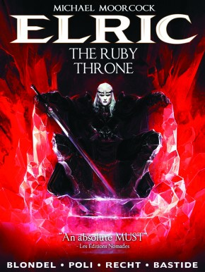 MOORCOCK ELRIC VOLUME 1 RUBY THRONE HARDCOVER