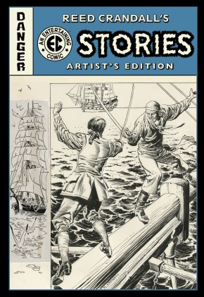 REED CRANDALL EC STORIES ARTIST EDITION HARDCOVER