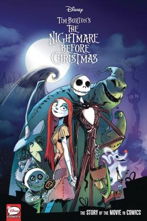 DISNEY NIGHTMARE BEFORE CHRISTMAS MOVIE IN COMICS HARDCOVER