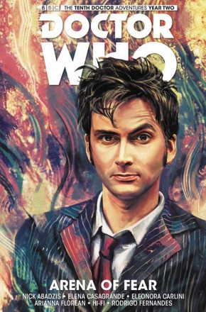 DOCTOR WHO 10TH DOCTOR VOLUME 5 ARENA OF FEAR HARDCOVER