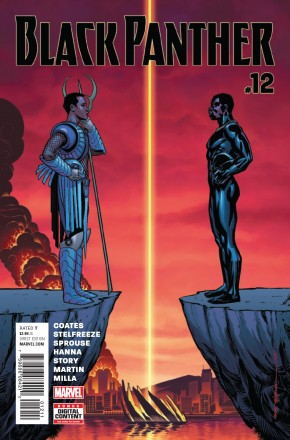 BLACK PANTHER #12 (2016 SERIES)