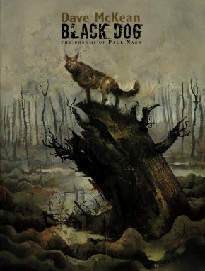 BLACK DOG THE DREAMS OF PAUL NASH GRAPHIC NOVEL