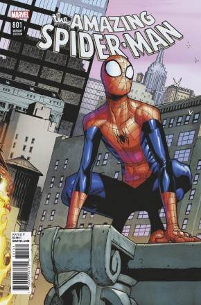 AMAZING SPIDER-MAN #801 (2015 SERIES) RAMOS CONNECTING VARIANT