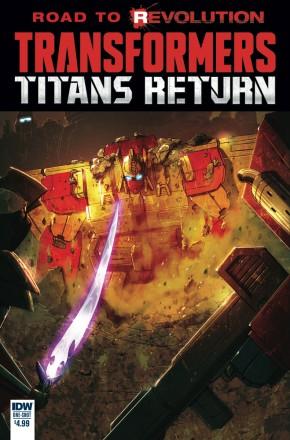 TRANSFORMERS TITANS RETURN