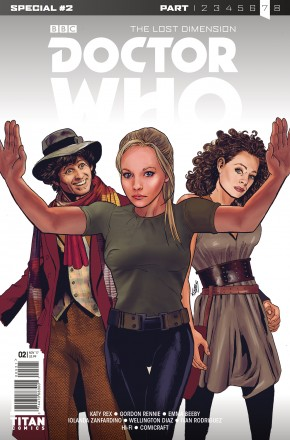 DOCTOR WHO LOST DIMENSION SPECIAL #2