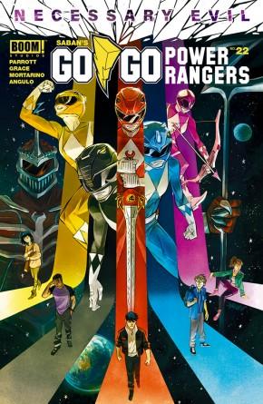 GO GO POWER RANGERS #22