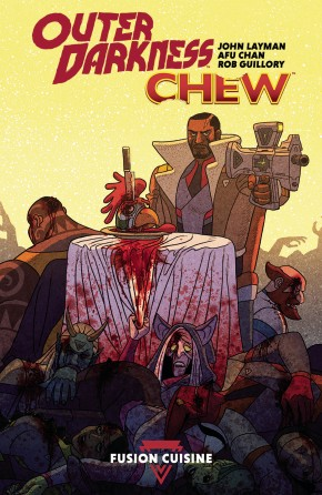 OUTER DARKNESS CHEW GRAPHIC NOVEL