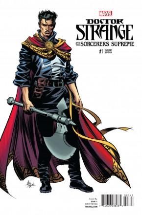 DOCTOR STRANGE SORCERERS SUPREME #1 DEODATO TEASER 1 IN 10 INCENTIVE VARIANT COVER