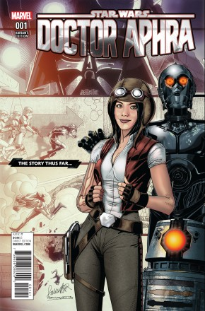 STAR WARS DOCTOR APHRA #1 LAROCCA STORY THUS FAR VARIANT COVER