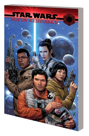 STAR WARS AGE OF RESISTANCE HEROES GRAPHIC NOVEL