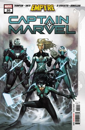 CAPTAIN MARVEL #20 (2019 SERIES) EMPYRE TIE-IN