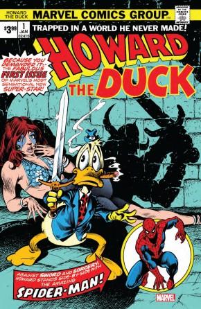 HOWARD THE DUCK #1 (1976 SERIES) FACSIMILE EDITION