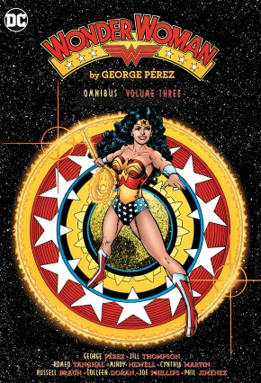 WONDER WOMAN BY GEORGE PEREZ OMNIBUS VOLUME 3 HARDCOVER