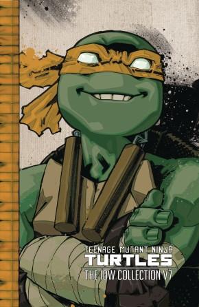 TEENAGE MUTANT NINJA TURTLES ONGOING COLLECTION VOLUME 7 HARDCOVER
