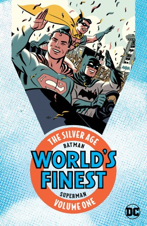 BATMAN AND SUPERMAN IN WORLDS FINEST THE SILVER AGE VOLUME 1 GRAPHIC NOVEL