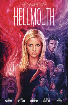 BUFFY THE VAMPIRE SLAYER ANGEL HELLMOUTH LIMITED EDITION HARDCOVER