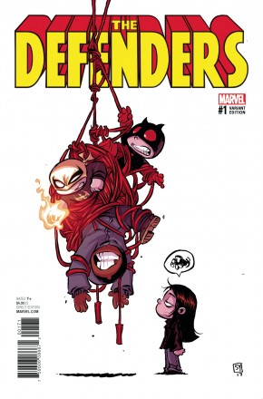 DEFENDERS #1 (2017 SERIES) YOUNG VARIANT COVER
