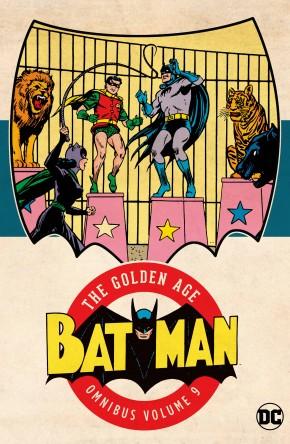 BATMAN THE GOLDEN AGE OMNIBUS VOLUME 9 HARDCOVER