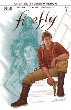 FIREFLY #1 (2018 SERIES) PREORDER QUINONES VARIANT