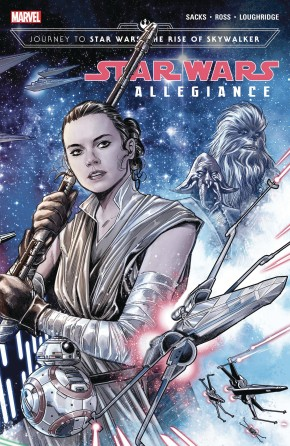 JOURNEY TO STAR WARS THE RISE OF SKYWALKER ALLEGIANCE VOLUME 1 GRAPHIC NOVEL