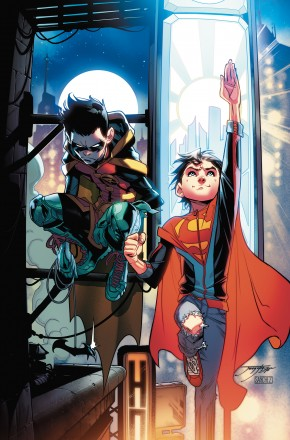 ADVENTURES OF THE SUPER SONS VOLUME 1 ACTION DETECTIVE GRAPHIC NOVEL
