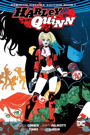 HARLEY QUINN REBIRTH DELUXE COLLECTION BOOK 1 HARDCOVER
