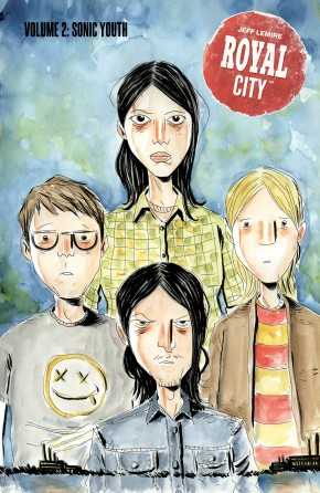 ROYAL CITY VOLUME 2 SONIC YOUTH GRAPHIC NOVEL