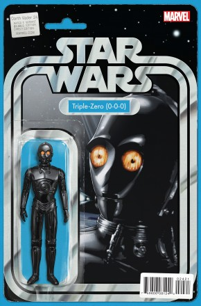 DARTH VADER #24 CHRISTOPHER ACTION FIGURE VARIANT COVER