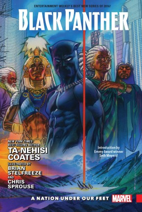 BLACK PANTHER VOLUME 1 A NATION UNDER OUR FEET HARDCOVER