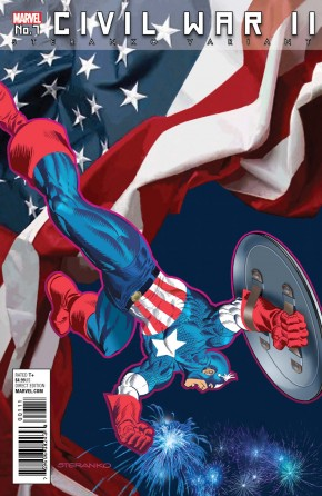 CIVIL WAR II #7 STERANKO CAPTAIN AMERICA VARIANT COVER