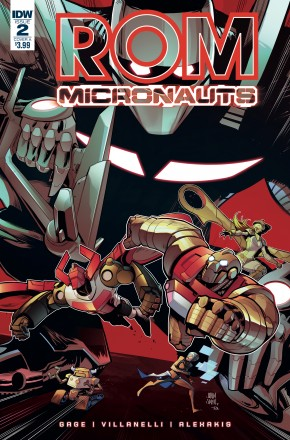 ROM AND THE MICRONAUTS #2