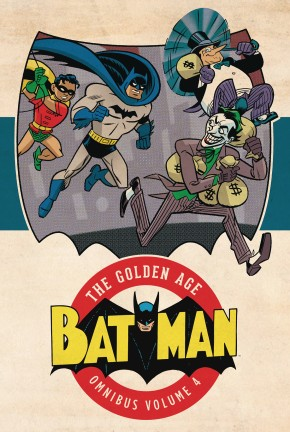 BATMAN THE GOLDEN AGE OMNIBUS VOLUME 4 HARDCOVER
