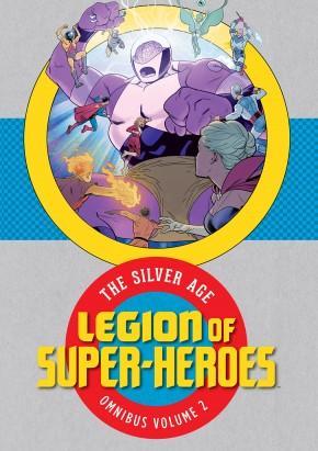 LEGION OF SUPER HEROES SILVER AGE OMNIBUS VOLUME 2 HARDCOVER