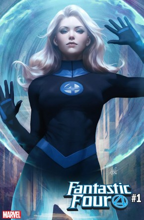 FANTASTIC FOUR #1 (2018 SERIES) ARTGERM INVISIBLE WOMAN VARIANT