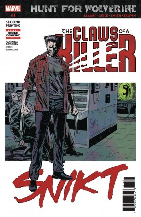 HUNT FOR WOLVERINE CLAWS OF KILLER #1 2ND PRINTING
