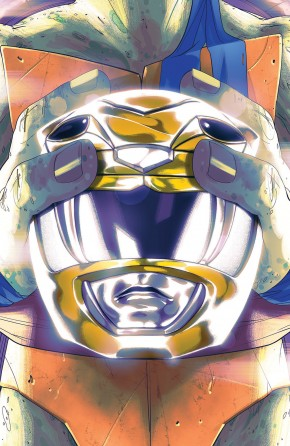 MIGHTY MORPHIN POWER RANGERS TEENAGE MUTANT NINJA TURTLES #2 LEONARDO COVER