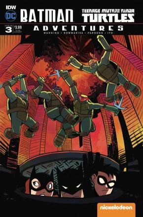 BATMAN TEENAGE MUTANT NINJA TURTLES ADVENTURES #3 SUBSCRIPTION COVER