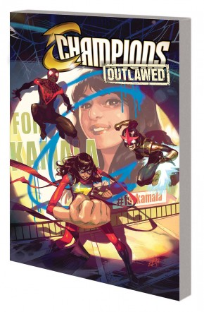 CHAMPIONS VOLUME 1 OUTLAWED GRAPHIC NOVEL