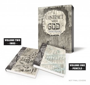 WILL EISNER CONTRACT WITH GOD CURATORS COLLECTION LIMITED EDITION HARDCOVER SIGNED BY WILL EISNER