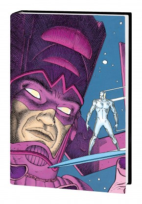 SILVER SURFER PARABLE 30TH ANNIVERSARY OVERSIZED EDITION HARDCOVER