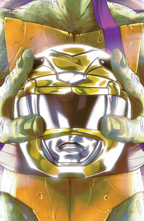 MIGHTY MORPHIN POWER RANGERS TEENAGE MUTANT NINJA TURTLES #2 DONATELLO COVER