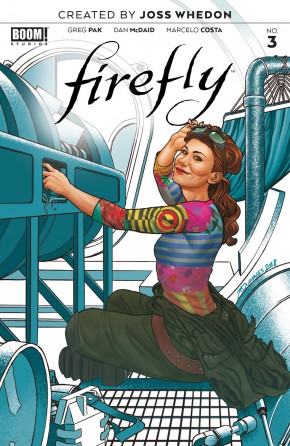 FIREFLY #3 (2018 SERIES) PREORDER QUINONES VARIANT