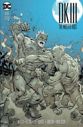 DARK KNIGHT III MASTER RACE #7 JANSON 1 IN 25 INCENTIVE VARIANT COVER
