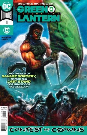 GREEN LANTERN SEASON TWO #11