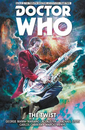 DOCTOR WHO 12TH DOCTOR VOLUME 5 THE TWIST HARDCOVER