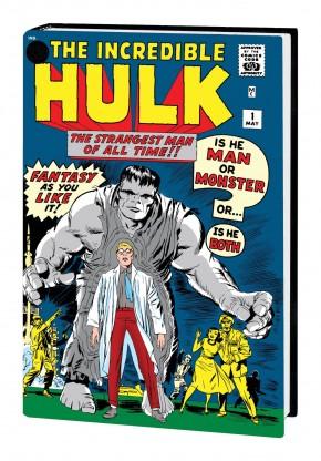 INCREDIBLE HULK OMNIBUS VOLUME 1 HARDCOVER JACK KIRBY DM VARIANT COVER