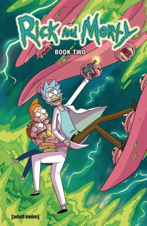 RICK AND MORTY BOOK 2 HARDCOVER